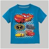 Cars Toddler Boys' Disney Short Sleeve T-Shirt - Turquoise