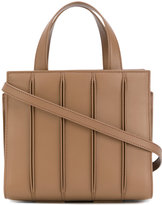 Max Mara slits detail tote bag - women - Leather - One Size