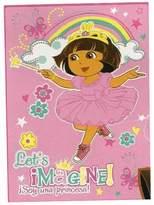 Nickelodeon Let's Imagine! Ultra Soft Plush Throw Blanket Dora the Explorer