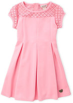 Juicy Couture Girls 4-6X) Fit and Flare Scuba Dress
