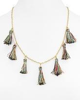 Rebecca Minkoff Kaleidoscope Tassel Necklace, 22