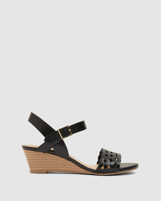 Easy Steps - Women's Black Sandals - Callum - Size One Size, 7 at The Iconic