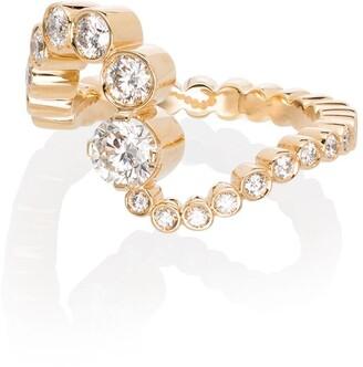 Sophie Bille Brahe 18kt gold Ocean Ensemble diamond ring