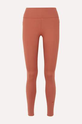 Nike One Luxe Dri-fit Stretch Leggings - Peach