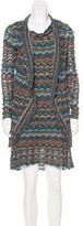 Calypso Open Knit Dress and Cardigan Set w/ Tags