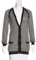 Jenni Kayne Cashmere & Silk-Blend Striped Cardigan