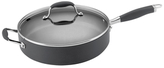 "Anolon 12"" Advanced Hard Anodize Non-Stick Saute Pan with Helper Handle"