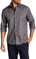 Toscano Jasp Check Long Sleeve Button Up Shirt