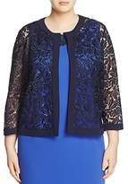 Marina Rinaldi Fantasia Macrame Lace Jacket