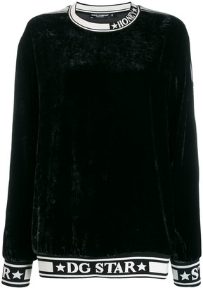 Dolce & Gabbana Star trim sweatshirt