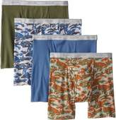 Fruit of the Loom Men's Print Solid X-Size Boxer Brief