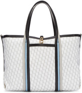 Pierre Hardy Tricolor Canvas Polycube Tote