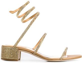 Rene Caovilla Cleo stud-embellished sandals