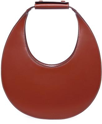 STAUD Leather Moon Hobo Bag