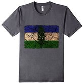 Cascadia Flag Vintage American Apparel Fitted T-Shirt