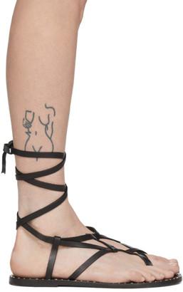 Isabel Marant Black Jesaro Sandals