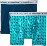 Tommy Bahama Men's 2 Pack Stretch Cotton Comfort Marlin Pop Boxer Brief