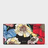 Paul Smith Women's 'Wild Garden' Print Leather Tri-Fold Purse