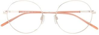 Love Moschino Round Wireframe Glasses