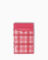 Charming charlie Plaid Magic Wallet