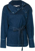 Stella McCartney denim wrap jacket