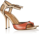 Givenchy Color-block leather sandals