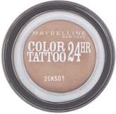 Maybelline Eye Studio Color Tattoo 24hr Eye Shadow - On & On Bronze - Pack of 2