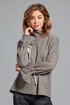 ChiChi Active - Sara Tie Sleeve Sweatshirt