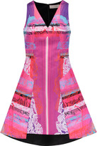 Peter Pilotto Angle printed neoprene dress