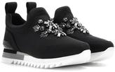 Tory Burch Rosas Crystal-embellished Slip-on Sneakers