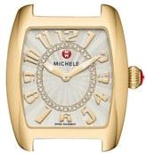 Michele 'Urban Mini' Diamond Dial Watch Case, 29mm x 31mm