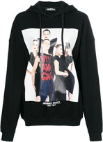 Jeremy Scott photo print hoodie