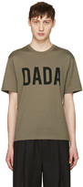 Christian Dada Green Logo T-shirt