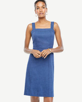 Ann Taylor Sleeveless Chambray Dress