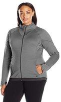 Champion Women's Plus Size Tech Fleece Full Zip Jacket