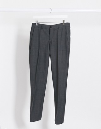 Esprit slim fit suit pant in grey