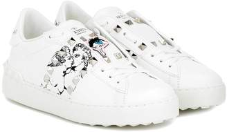 Valentino Garavani x UNDERCOVER leather sneakers