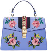 Gucci Blue Medium Sylvie Bag
