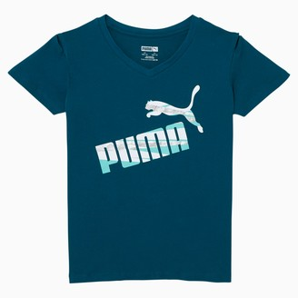 Puma No.1 Logo Girls' Fashion Tee JR
