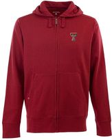 Antigua Men's Texas Tech Red Raiders Signature Full-Zip Fleece Hoodie