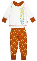 Toddler Girl's Masalababy 'Keya' Fitted Two-Piece Pajamas