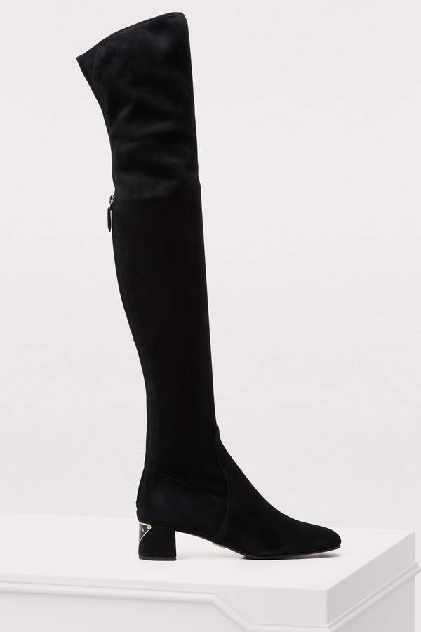 1593e53f20ed Thigh High Stretch Boots - ShopStyle