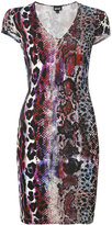 Just Cavalli printed fitted dress - women - Viscose - 40