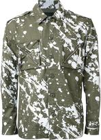 Yoshio Kubo paint splash jacket