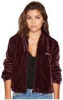 Obey Sabre Velvet Bomber Jacket Women's Coat
