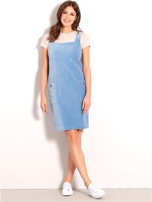 M&Co Cord pinafore dress
