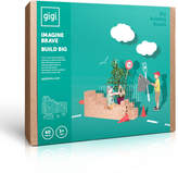 GIGI BLOKS Cardboard Building Set - Set of 60 blocks