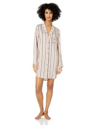 Hanro Women's Malie Woven Long Sleeve Gown