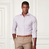 Ralph Lauren Purple Label Tattersall Cotton Sport Shirt