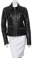 Dolce & Gabbana Leather Moto Jacket